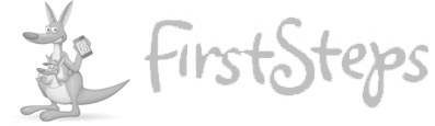 Evident firststeps gray logo